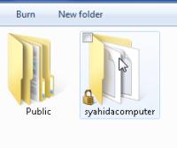 folder dikunci